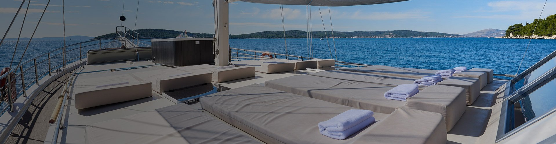 Relaxing cruise on gulet – traditional wooden vessel refitted to a luxury accommodation.